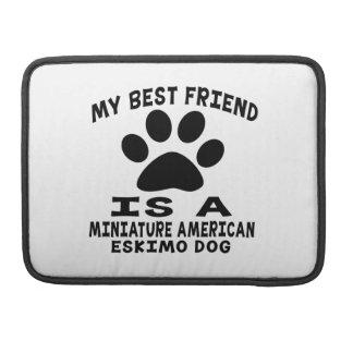 Mi mejor amigo es un perro esquimal americano mini funda para macbook pro