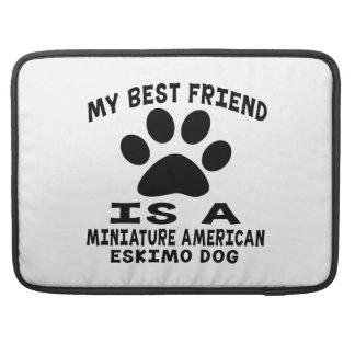 Mi mejor amigo es un perro esquimal americano mini fundas para macbook pro