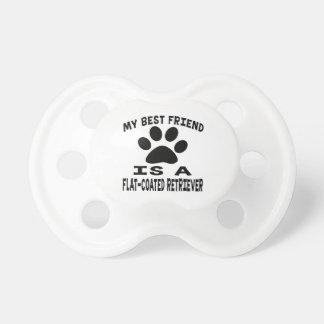 Mi mejor amigo es un perro perdiguero Plano-Revest Chupetes Para Bebés