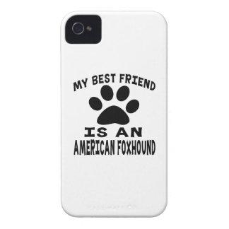 Mi mejor amigo es un raposero americano iPhone 4 carcasa