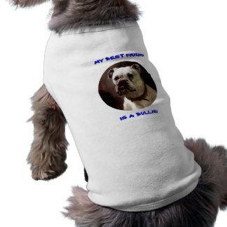 MI MEJOR AMIGO ES UNA CAMISETA DEL MASCOTA DEL DOG PLAYERA SIN MANGAS PARA PERRO
