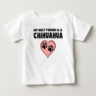 Mi mejor amigo es una chihuahua remera