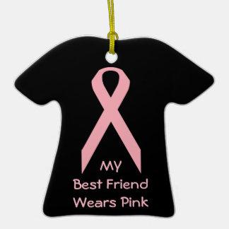 Mi mejor amigo lleva rosa adorno