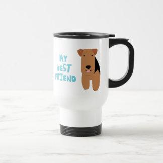 Mi mejor amigo Terrier galés Taza De Viaje