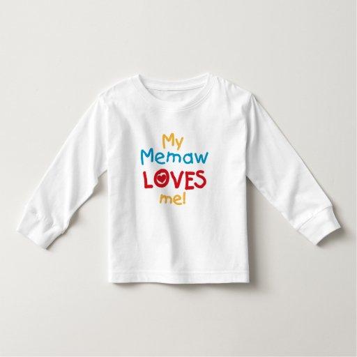 Mi Memaw me ama las camisetas y los regalos Playeras