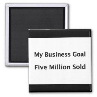 Mi meta de negocio 5 millones vendidos imán cuadrado