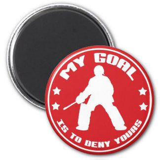 Mi meta es negar al suyo el imán del hockey