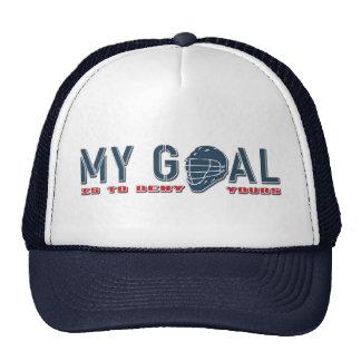 Mi meta, gorra del portero de LaCrosse