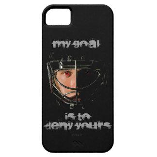 Mi meta (portero del hockey) funda para iPhone SE/5/5s