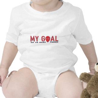 Mi meta, portero del hockey trajes de bebé