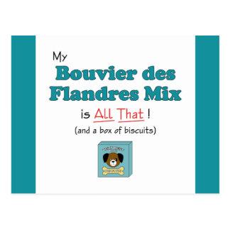 ¡Mi mezcla del DES Flandres de Bouvier es toda la Tarjeta Postal