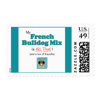 ¡Mi mezcla del dogo francés es toda la eso! Sello