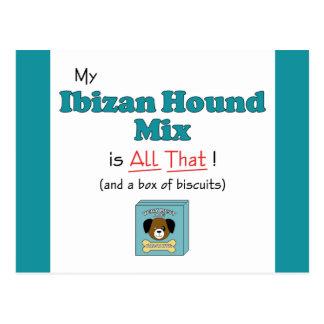 ¡Mi mezcla del perro de Ibizan es toda la eso Postales