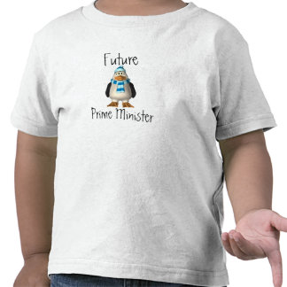 Mi ministro futuro del niño primer camisetas