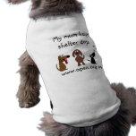 Mi momia ayuda a caridad del personalizable de los camisa de perrito