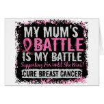 Mi momia del cáncer de pecho demasiado 2 de la bat tarjetas