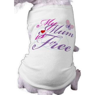 Mi momia está libre ropa de perros