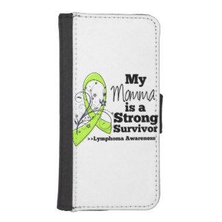 Mi Momma es un superviviente fuerte del linfoma Billetera Para Teléfono
