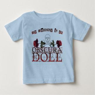 Mi Mommie es una camiseta del bebé de la muñeca de