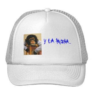 MI mono, LA MONA de Y… Gorro De Camionero