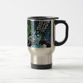Mi monstruo mi novia tazas de café