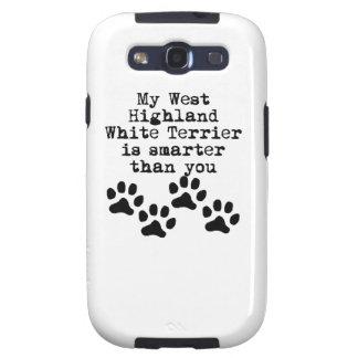 Mi montaña Terrier blanco del oeste es más Samsung Galaxy S3 Funda