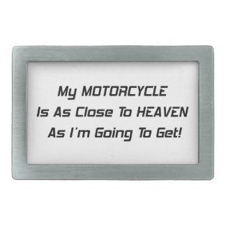 Mi motocicleta está tan cerca al cielo como Im que Hebilla Cinturón