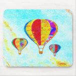 Mi mousepad hermoso de los globos tapetes de ratón