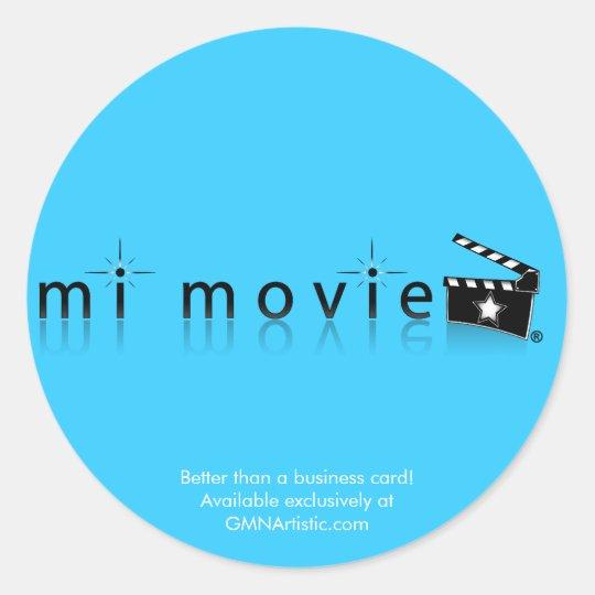 mi movie sticker