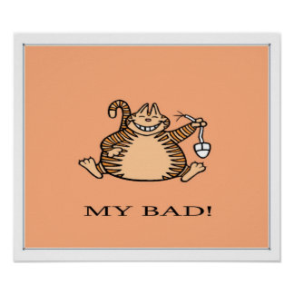 MI MÚN poster del gato