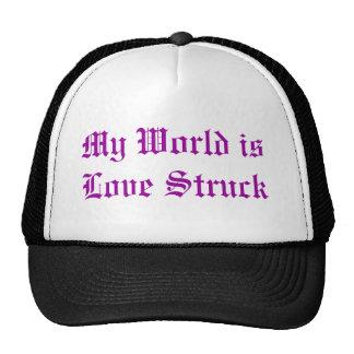Mi mundo es gorra pegado amor del camionero