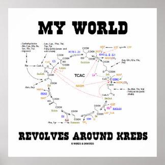 Mi mundo gira alrededor de Krebs el ciclo de la