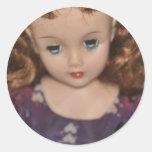 Mi muñeca de Revlon Pegatina Redonda