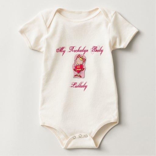 Mi nana del bebé de Rockabye de Leslie Anne Cote Body Para Bebé