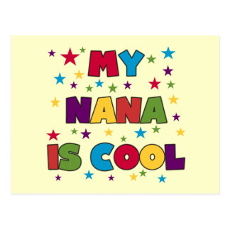 Mi Nana es camisetas y regalos frescos Postal