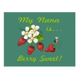 Mi Nana es dulce de la baya Postal