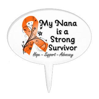 Mi Nana es una cinta fuerte del naranja del superv Decoración Para Tarta