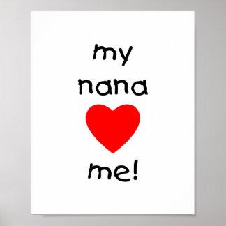 mi Nana me ama Posters