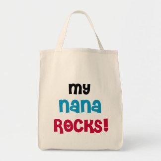 Mi Nana oscila las camisetas y los regalos Bolsa Tela Para La Compra