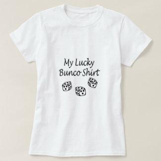 Mi negro afortunado de la camisa de Bunco