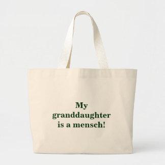 ¡Mi nieta es un mensch! Bolsa