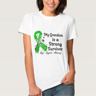 Mi nieto es una cinta fuerte del verde del remera