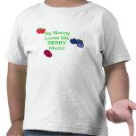 ¡Mi niñera me ama baya mucho! Camiseta del niño