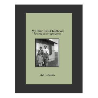 Mi niñez de las colinas del pedernal tarjetas postales