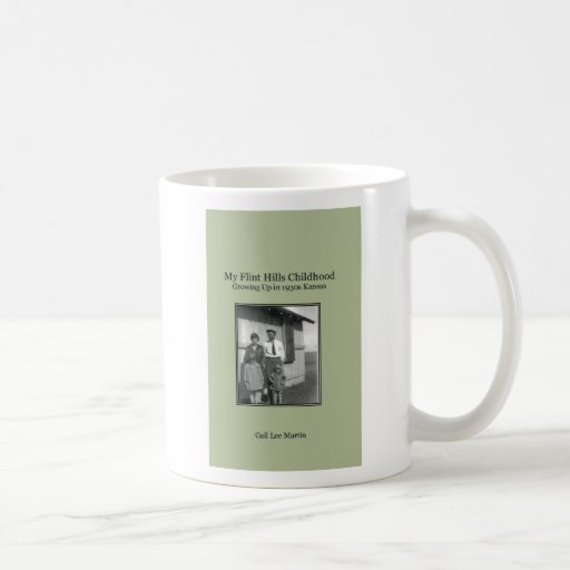 Mi niñez de las colinas del pedernal taza de café