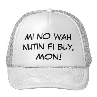 ¡MI ninguna compra del fi del nutin del wah, lunes Gorro De Camionero
