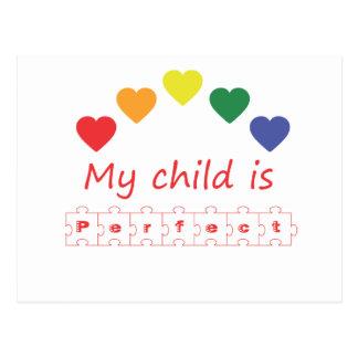 Mi niño es perfecto postal