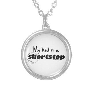 Mi niño es un campo corto colgante personalizado