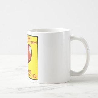 Mi niño nació con un corazón quebrado tazas de café