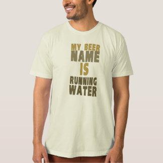 Mi nombre de la cerveza es agua corriente playera
